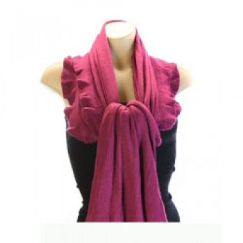 Fushia Pink Winter Scarf